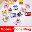 iRing/Bunker Ring/iPhone Phone Holder/Mobile Stand/Handphone/ Samsung/Hello Kitty/Melody/Doraemon