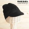 ♠送料無料♠ ディーゼル DIESEL ニットキャップ 帽子 メンズ レディース 男女兼用 カシミヤ混 ツバ付き KANT-BEAN