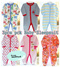 Baby pajamas sleepsuit 3pcs pck and Baby T-shirtRomper