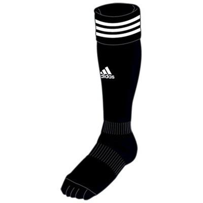 アディダス(adidas) BASIC5本指ソックス AK916 BLK/WHT 【サッカー ウェア ストッキング】の画像