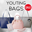 【YOUTING】Trendy handbag pouch wallet wristlet laptop bag travel bag organizer passport cover