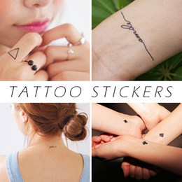 「mixshop.sg」Tattoo Stickers / Gold and silver Tattoo Stickers/ Body Tattoo / Deco Stickers / Teo Sticker / Nail Stickers