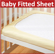 Premium Fitted Sheet Mattress Cover Baby new born infant child bed cot bedding BB