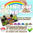Rainbow Sand Bundles - TESTED IN SINGAPORE - Trusted by Child Care Centre ( Kinetic Type Sand  )