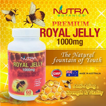 🔥Super Discount🔥Nutra Botanics Royal Jelly 1000mg 60s🔥Anti-Aging🔥6% 10-HDA🔥Exp 1/2020