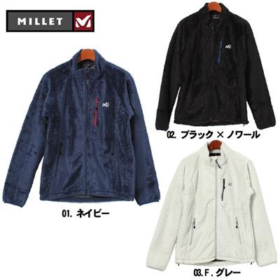 ミレー MILLET グロット ソフト シェル ジャケット フリース ウェア トレッキング メンズ(男性用)の画像