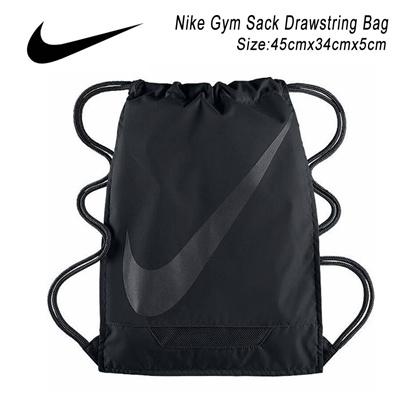 Qoo10 - Nike Drawstring Bag Gym Sack Black BA5094-001 : Athletic ...
