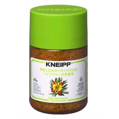 クナイプ KNEIPP バスソルト ヘイフラワー 500gクナイプ/KNEIPP/バスソルト/芳香浴/入浴剤/岩塩/精油/ハーブ/ヘイフラワー/500gの画像