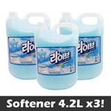 [4.2L x 3] All100 Live Softener 4.2L x 3 / Floral Fragrance(pink) or Iris Fragrance(Skyblue)