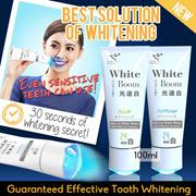 【Best Solution of Teeth Whitening】【Best Price in sg】Li-Zey White Boom ❤❤ LED Whitening Toothpaste 100ml