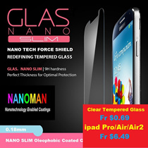 ★ 2016 LATEST 3D NANO COLOR ★ NANO SLIM ★ For iPhone 6 / 6plus / iPhone 7 / iPhone 7plus Tempered Glass Screen Protector ★ Free 30 Days Warranty ★