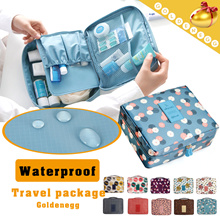 ☆Up to 5、Same shipping fee◆Travel Multi-pouch Ver.2 Model◆Travel Bag-Plenty of Storage Space Cosmetic Bag/ Luggage/ Organizer Bag-10 colors