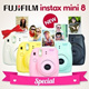 [FREE GIFTS]◆Instax Mini 8◆Fuji Instax Mini 8 8s Cheapest Polaroid Camera 8s 7S 25 50s Pink Blue Yellow White Black