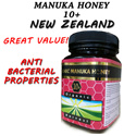 Organic Manuka Honey 10+ and 15+ [500g] Certified Organic by NZ and Accredited by IFOAM ( Natural Antibiotic)