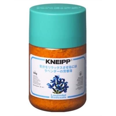 クナイプ KNEIPP バスソルト ラベンダ 500gクナイプ/KNEIPP/バスソルト/芳香浴/入浴剤/岩塩/精油/ラベンダー/500gの画像