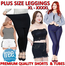 PLUS SIZE XL-XXXXL♥PREMIUM LEGGINGS♥CNY BRA SALE♥PYJAMAS♥ TUBES♥SHORTS♥PANTIES♥WINTER PANTS♥FREE SHP