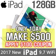 [MAKE $500 for iPad 9.7 128GB!!] Apple iPad 9.7 Wi-Fi 128GB | 5th Generation 2017 Model | Retina