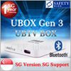 UNBLOCK Tech TV BOX Ubox S900ProBT Gen3+ Bluetooth SG Local version for Global 1000+ Free Channels