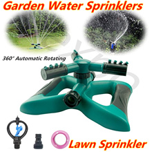 Lawn Sprinkler 360° Automatic Rotating Garden Water Sprinklers System