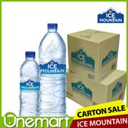 FNN ★ ICE MOUNTAIN SALE ★ PURE DRINKING WATER ★ 600ml x 24 / 1.5L x 12