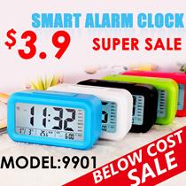 ♣Smart digital alarm clock ♣ *NEW*smart digital alarm clock  with big screen LED backlight and sensor control BEST PRICE/alarm clock/student clock/office clock