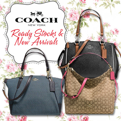 coach shoulder bag outlet bg95  Qoo10