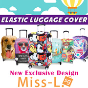▶Travel luggage Elastic Suitcase Protecting Cover◀Don′t worry scratch~! Protect your suitcase