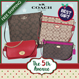 [♥] x-mas gift [♥] 5th Ave ♥♥•• COACH♥KATE SPADE ••♥♥ 20 Designs Men/Women°s Crossbody Bags ♥♥ 100% Authentic Brand Items ♥♥ FREE Shipping and Coach Gift boxes from USA ♥♥