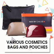 Various Cosmetics Bags and Pouches from $11.90 Onwards! Multiple Options Available!