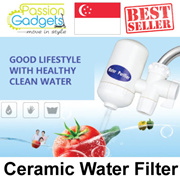 Ceramic Water Purifier (Environment Friendly) Kitchen Tap Filter Dirt Rust Clean water