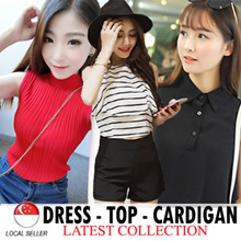 $9.90 All Top ★ Best KOREA Design Lovely T-Shirt Top Dress  Blouse Cardigan ★CNY Chinses new Year