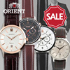 *Best for Christmas Gift!* 【ORIENT】 100% Authentic Classic leather WATCH Collection For men and Women / best  couple leather band watch!! FREE SHIPPING ★Authentic GIFT CASE included★
