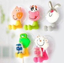 [One Space] MEGA SALE ! New arrival animal cartoons Toothbrush holder / animal toothbrush holder cute bathroom accessories / design /ideal of good / kid gift