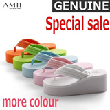 TIME SALE!!! Seducing Discount!! ONLY at M18! Grab it! Women's flip flops/ new summer casual slippers/ anti-skid flip flops/ thick platform sandals/ for female 11110695 【M18】