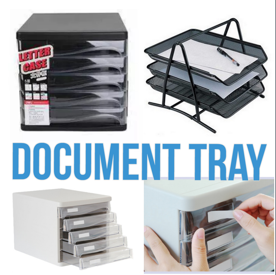 Document Tray Letters And Papers Organiser Rack