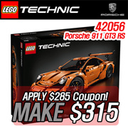 [SUPER!! MAKE $315!!] LEGO Technic Porsche 911 GT3 RS Toys/ 911 GT3 RS 42056
