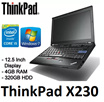 (Refurbished) Lenovo Thinkpad X230 12.5 inch Screen/ 1366x768/ Intel Core i5  4GB RAM 320 HDD