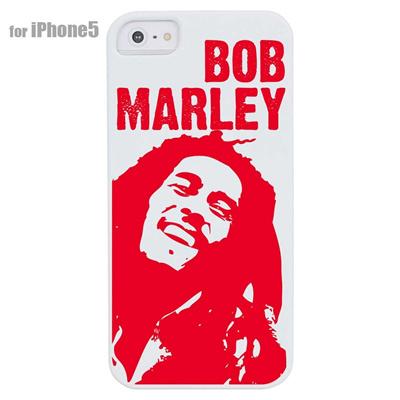 【iPhone5S】【iPhone5】【レゲエ】【iPhone5ケース】【カバー】【スマホケース】【BOB MARLEY】 ip5-08-j0001の画像