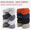 NECK PILLOW / TRAVEL NEEDS / MUJI INSPIRED IN FLIGHT PILLOW/ 100% COTTON / READY STOCK SG SELLER!