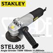 Stanley STEL805 100mm SLIM ANGLE GRINDER 750W