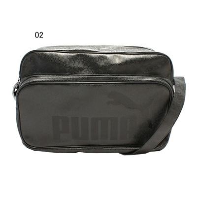 プーマ (PUMA) TS マット ASB タイプ B ショルダー L(ブラック×ブラック) 072405-02 [分類:エナメルバッグ (大型)] 送料無料の画像