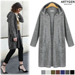 [Free-ship]◆FW Big sale!!◆Hooded cardigan added!! Flat price◆3 type◆ long cardigan / light material / various colors / good stretch