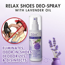 1+1 SPECIAL + FREE GIFT!🌿No more Smelly Feet 🌿Pamper Your Feet 👣 - Kokona Lavender Oil Foot Spray