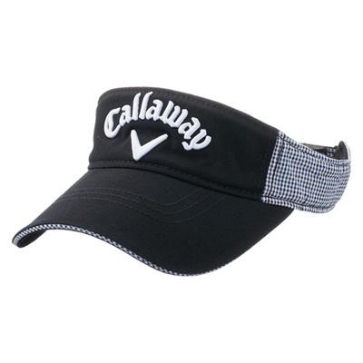 キャロウェイ (Callaway) Style Visor 15JM(スタイルバイザー)ブラック×ネイビー 5215377 [分類:ゴルフ サンバイザー (メンズ)]の画像