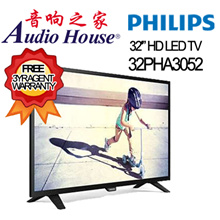 *Super Sales*PHILIPS 32PHT4002 [DIGITAL TV]|32PHA3052|32PHT5102[SMART DTV] 32IN LED TV-3YRS WARRANTY