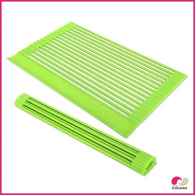 【日用品】 chaeum siliconeシリコンシンクマット(M)HKS-306(G)の画像