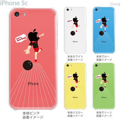 【iPhone5c】【iPhone5c ケース】【iPhone5c カバー】【ケース】【カバー】【スマホケース】【クリアケース】【クリアーアーツ】【ボウリング】 10-ip5c-ca0081の画像