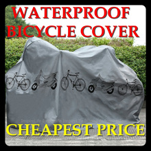 Bike Motorcycle Rain Dust Cover Waterproof Outdoor  Scooter Protector Gray