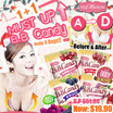 1+1 DEAL[IVY MAISON] MUST UP B.B Candy 美胸糖✮NO1 AWARD✮SUPPLEMENT FOR BREAST CARE✮100% NATURALLY UPGRADE YOUR BREAST✮FOR ALL GENDER✮EFFECTIVE BUST ENHANCEMENT LIFTING BUST✮