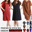 Open 12-Nov.[Free shipping]★Premium stocks SUMMER to WINTER★SMLX KOREA 100% MADE/shipped from Seoul/fine simple and plus/size/maternity/lightweight/travel/holiday